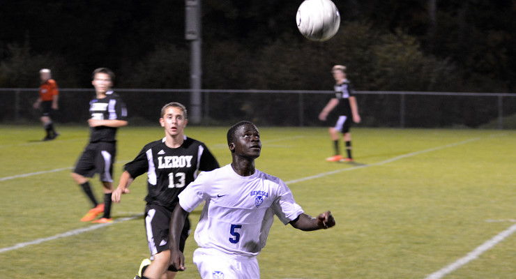 BOYS SOCCER: Geneseo Tops LeRoy, Moves to 11-1