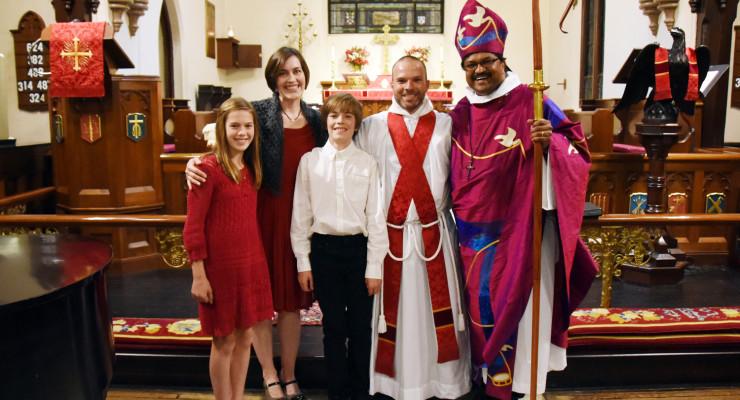 Saint Michael's Church Celebrates New Ministry of Rev. William Daniel Jr.