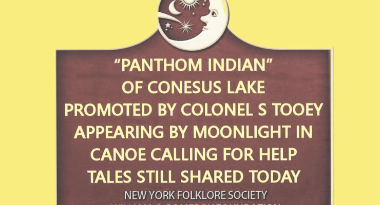Conesus Lake Folklore of 'Phantom Indian' Sets Sights on Historical Designation