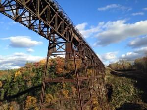 The current bridge. (Photo/Carol Groat via Facebook)