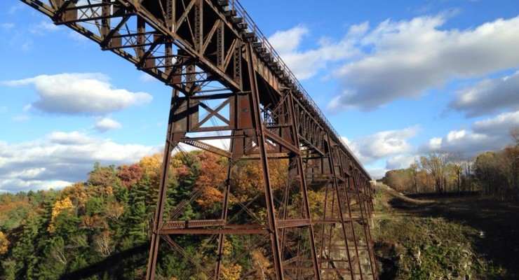 Full Steam Ahead, Letchworth's Railroad Bridge Breaks Ground Wednesday