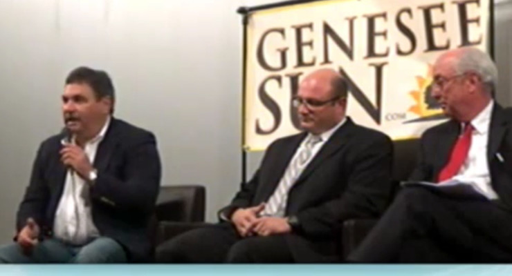 WATCH: Geneseo Candidates at the Meet and Greet 'Q and A'