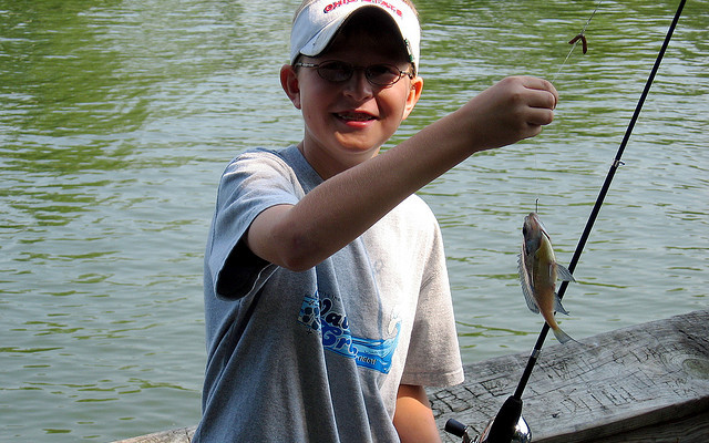 Teach Kids to Fish, Host a Free Fishing Clinic