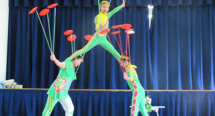 Chinese Acrobats to Defy the Impossible for St. Agnes' Arts and Enrichment Program