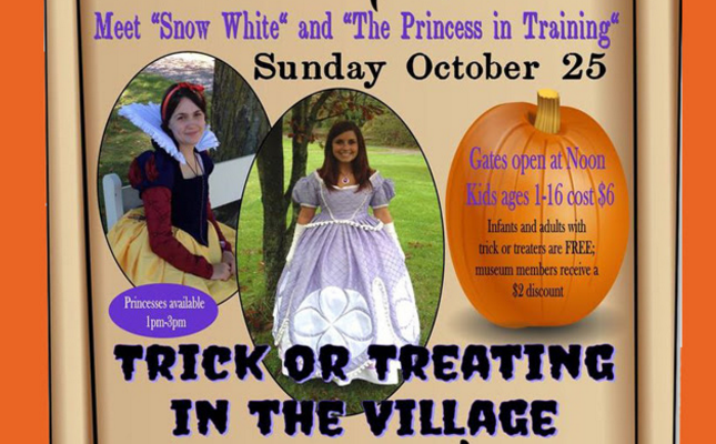 Trick or Treat at Genesee Country Village and Museum