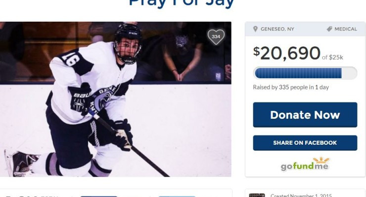Geneseo Police: Fall from Skateboard Caused Mysterious Skull Fracture for SUNY Hockey Player