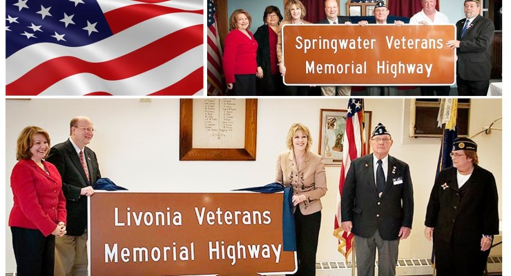 Rte. 15a Dedicated as 'Veterans Memorial Highway'