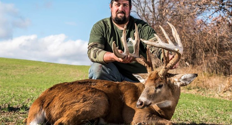 Caledonia Farmer Bags Buck of a Lifetime
