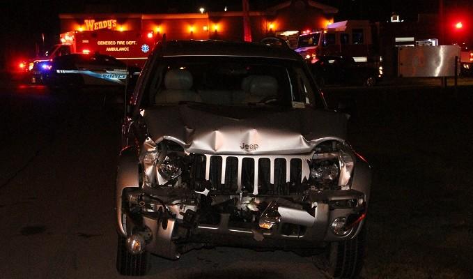 Driver Injured After Rear-Ending Pickup at Geneseo Stoplight