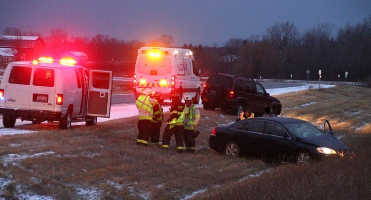ALERT: Icy Roads Cause Multiple Accidents in Livingston County