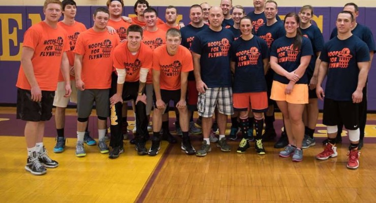 Touching Hoops Game with Sheriffs Rallies College Funds for York Student