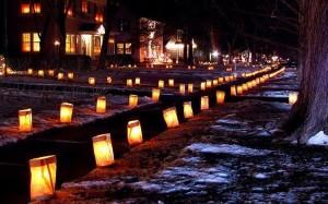 (Photo/Avon Village Luminaries Facebook page)
