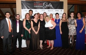 Staff and friends of CCLC who made the gala possible. (Photo/Conrad Baker)