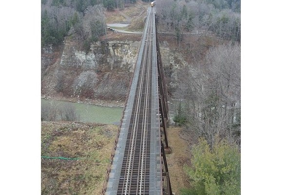 End of the Line: Replacement of Letchworth's 'Trestle Bridge' to Begin Thursday