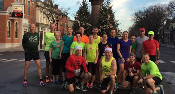 Runners Enjoy Warm Weather on Annual Run