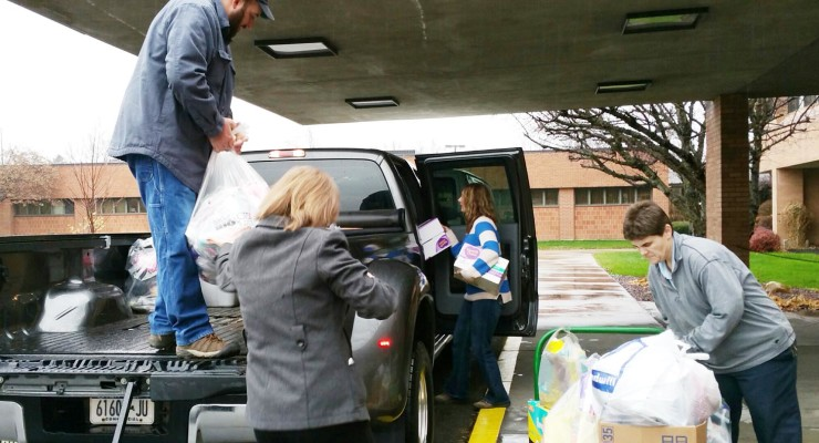 Noyes Health Employees Deliver Holiday Cheer to Local Charities