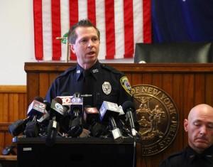 Geneseo Police Officer Jeffrey Szczesniak. (Photo/Conrad Baker)