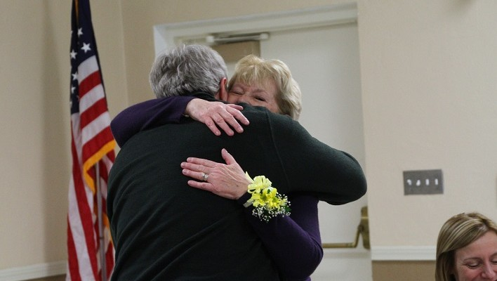 Village of Avon Wishes Clerk Patty Baker a Happy Retirement with Surprise Party