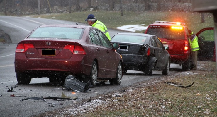 Accident Disables Two Vehicles in Geneseo