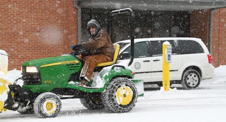Livingston County Government Shuts Down for Snowstorm