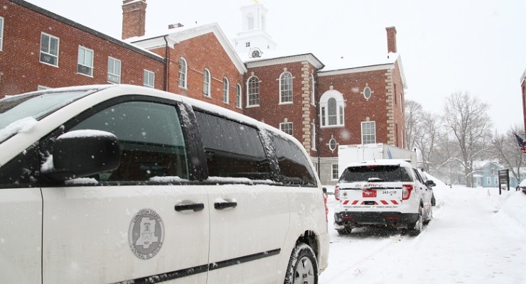 Storm Closes Livingston County Courthouse