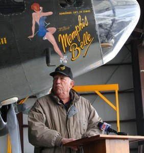 National Warplane Museum President Austin Wadsworth. (Photo/Conrad Baker)