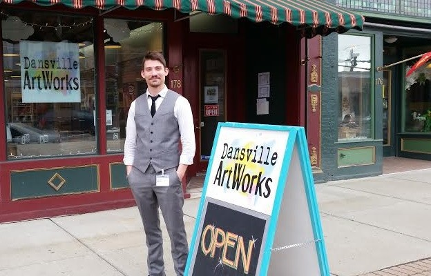 Nice, Dansville Resident, Takes the Helm as Gallery Coordinator for Dansville ArtWorks