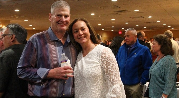 More than 300 Gather at 'Schuster Booster' for Livonia's NFL Ref