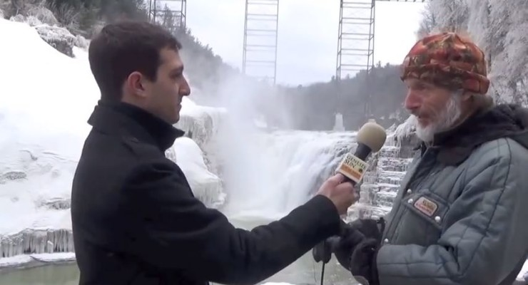 WATCH: The Water and Ice of Letchworth's Falls