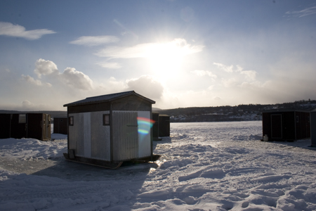 DEC Warns Ice Anglers to Reel in their Shanties Early
