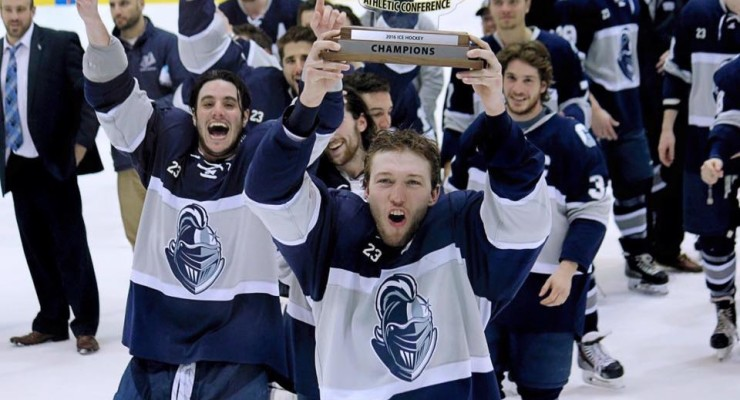 SUNY Geneseo Ice Knights Defeat SUNY Plattsburgh for SUNYAC Title