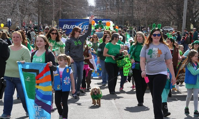 Avon Feels Lucky with Big Beautiful St. Patty's Day Parade
