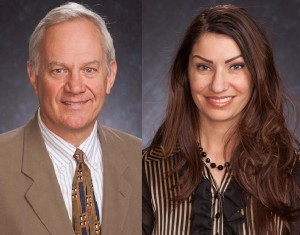 (L-R) Nicholas Kochan and Emily Palumbos. (Photos/MRB Group)
