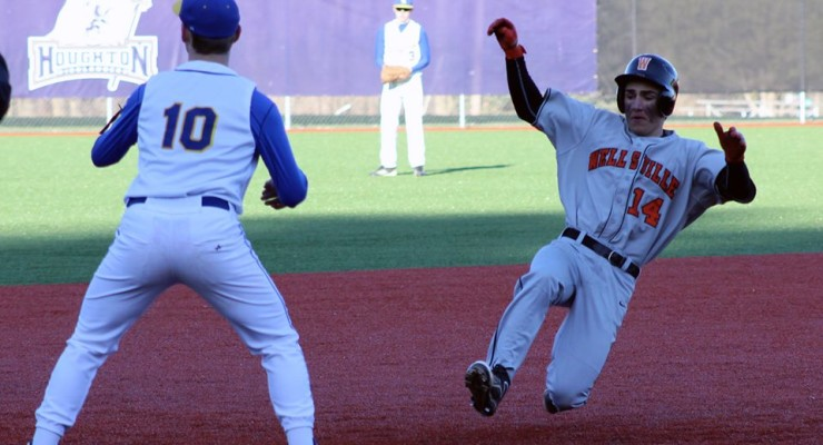 Wellsville No-Hits Geneseo Blue Devils