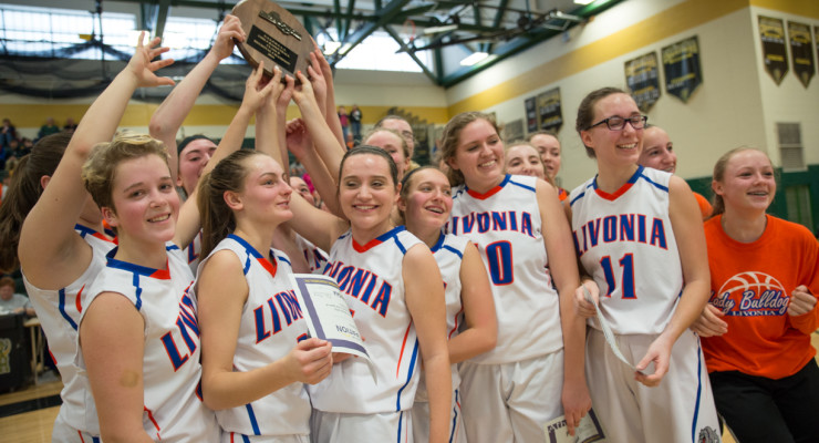 GIRLS BASKETBALL: Livonia Heads to Semis with Inspiring Victory Over Olean