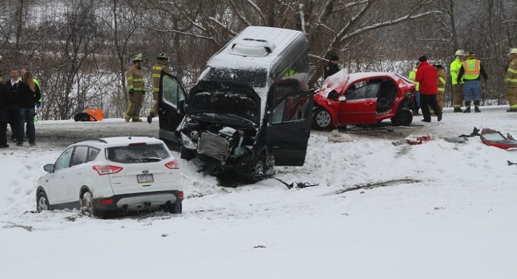 Tour Van Struck Nunda Woman's Car in Fatal Mount Morris Accident