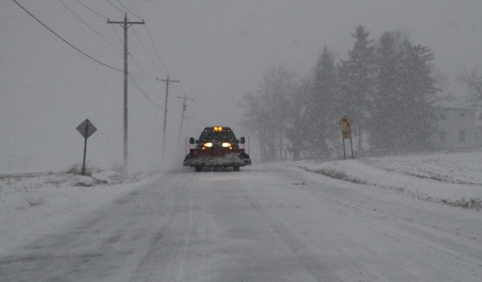 Winter Returns in Force to Livingston County