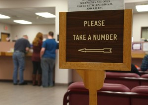 The Livingston County DMV. (Photo/Conrad Baker)