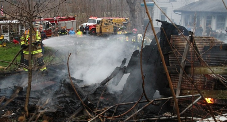 Chicken Heat Lamp Triggers Conesus Barn Fire