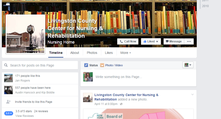 Livingston County Considers Taking On Impostor Facebook Page in Court