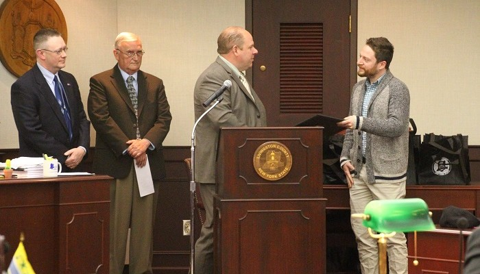 SUNY Geneseo FORCES Wins Earth Day Award for Growing Partnership with Letchworth