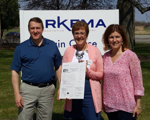 Arkema in Geneseo Breaks 10-Year Fundraising Record with United Way