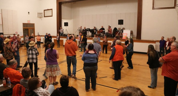 200 People Square Dance to Save Jack Evans Community Center in Hemlock
