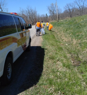 Sheriff Dougherty Stings Highway Litter with 'Operation Litter Bug'