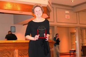 GVHP awards Joan Ellison for her dedication to Livingston County residents. (Photo/Conrad Baker)