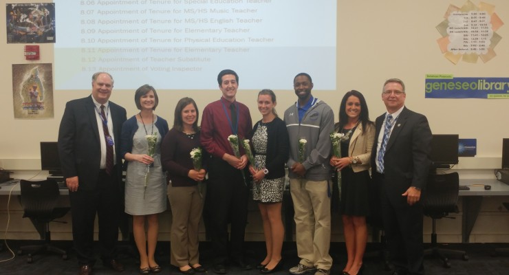 Geneseo Central School Tenures 6 Outstanding Teachers