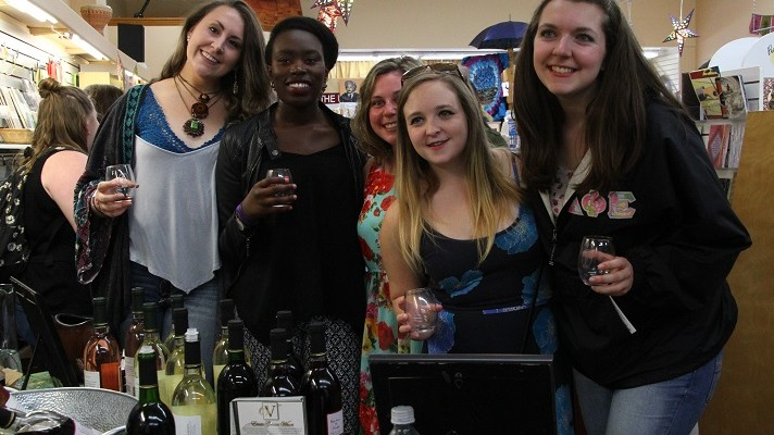 Geneseo Wine Stroll Shines Through Rain