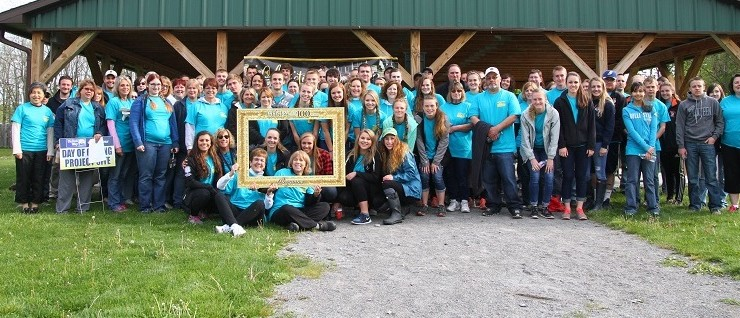 Livingston County High Schooler Volunteers Make United Way's Biggest Ever Day of Caring