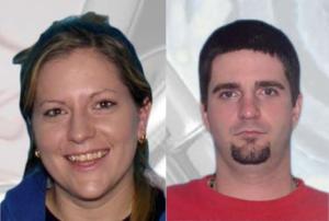 Melissa Burris and Jacob Chapman. (Photos/Jacksonville Sheriff's Office)