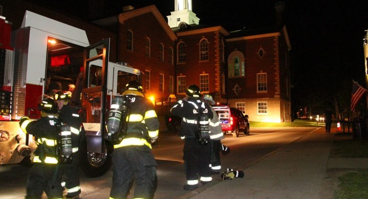 Candy Machine Socket Sours Courthouse with Smoke Scare